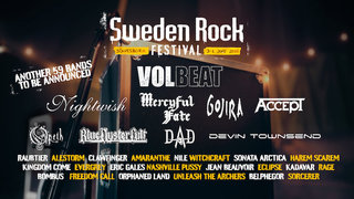 SWEDEN ROCK FESTIVAL(スウェーデン・ロック・フェスティバル) 2020の出演バンド1/3が決定!