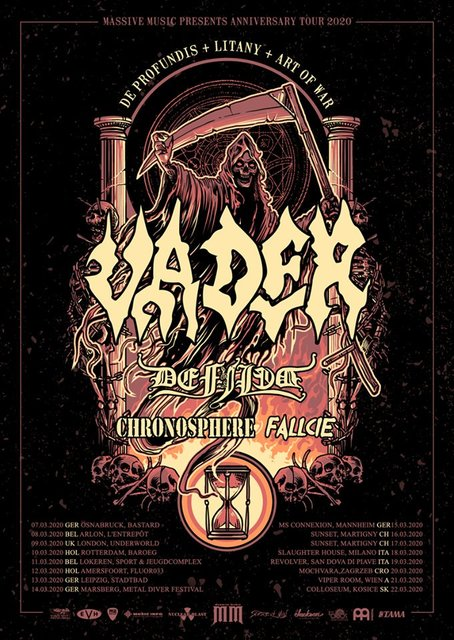 """The Underworld on Twitter: """"On Sale Now 🔥 Join us for @VaderBand - #Anniversary Tour and UK Exclusive with @DefiledJapan #Chronosphere & @FallcieOfficial at @TheUnderworld on Monday 9th March w/ @AeonPromotions - https://t.co/APSbiVxefA - Event: https://t.co/CaetpnPs2A… https://t.co/dLicuGaway"""" (20264)"""