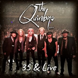 Hey You!デジタルのみだぜ!THE QUIREBOYSが35周年記念のライブ・アルバム『35 & Live』をリリース!