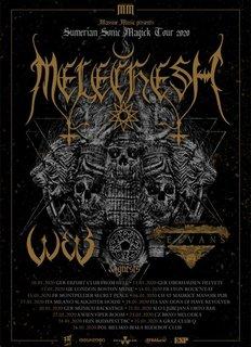 メソポタミアン・メタルMELECHESHが2020年1月の欧州、2月3月のロシア・ツアーを発表!
