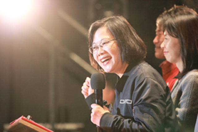 蔡英文 - 台湾総統