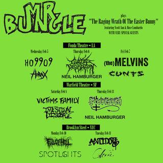 MR.BUNGLEの復活ライブではこれまで演奏したことがない曲も!