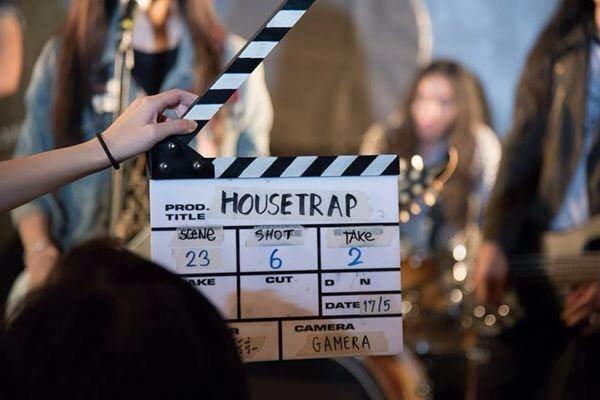 『HOUSETRAP~信仰、愛、ロックミュージック』撮影風景