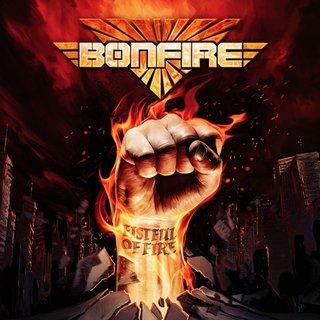BONFIREが新譜『Fistful Of Fire』を4月に発売!