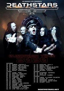 DEATHSTARSのアルバムとツアーは秋に延期