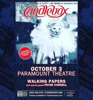 CANDLEBOXがオリジナル・ラインアップで『Lucy』25周年を祝う