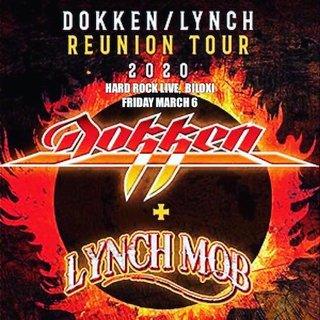 DOKKENのステージにGeorge Lynch!