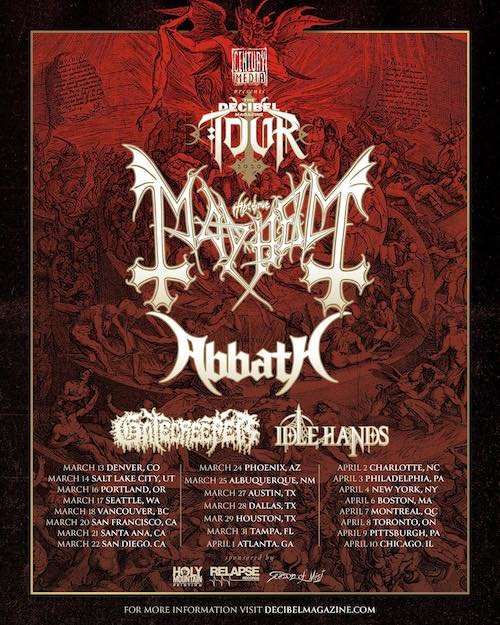 The Decibel Magazine Tour