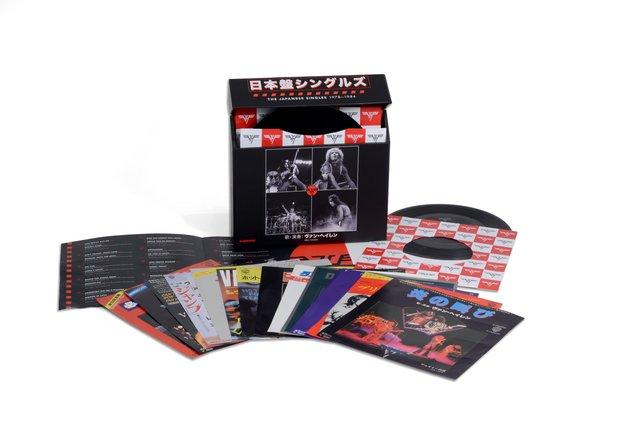 VAN HALEN「日本盤シングルズ 1978-1984」
