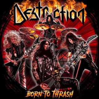 DESTRUCTIONがライブ・アルバム『Born To Thrash - Live In Germany』を発売!