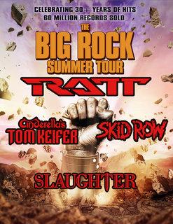 米国で開催されるRATT、SKID ROW、SLAUGHTER、CINDERELLA'S TOM KEIFERをパッケージした<The Big Rock Summer Tour>の5月、6月公演が延期