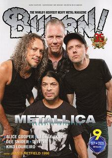 METALLICA、20年越しオーケストラとの共演作の全貌に迫る独占会見! BURRN!9月号は8月5日発売