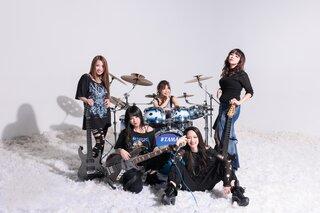 Mary's Blood の SAKI (Gt)、むらたたむ (Dr)の新バンド NEMOPHILAが2nd Single『雷霆 -RAITEI-』をリリース 同日に配信ライブ決定