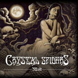 USのストーナー/ドゥーム・メタル・バンドCrystal Spidersがデビュー・アルバムをリリース