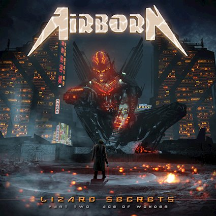 AIRBORN「LIZARD SECRETS~PAR...