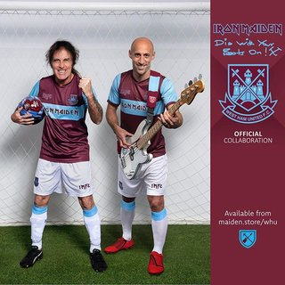 メタル ✕ フットボール = IRON MAIDEN ✕ West Ham United FC