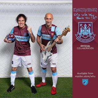 メタル ✕ フットボール = IRON MAIDEN ✕ West Ham United FC