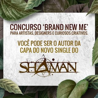 SHAMANが最新シングル「Brand New Me」のアートワーク・コンテストを開催