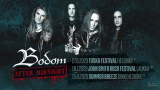Alexi LaihoがBODOM AFTER MIDNIGHTを開始!