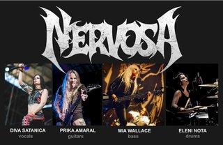 NERVOSAの新メンバーが決定!多国籍な4人組に!