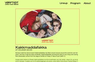 ENSLAVEDがオンライン・フェス<Verftet Online Music Festival>に参加!