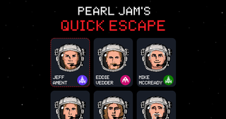 PEARL JAMが新曲「Quick Escape」とゲームを公開!