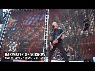 "METALLICAがベルギー公演の""Harvester of Sorrow""ライヴ映像を公開"