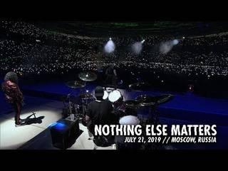 "METALLICAが7/21モスクワ公演の""Nothing Else Matters""ライヴ映像公開"