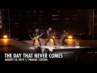 "METALLICAが8/18プラハ公演から""The Day That Never Comes""のライヴ映像を公開"