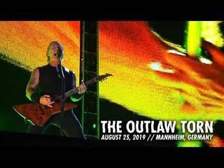 "METALLICAが8/25のマンハイム公演から""The Outlaw Torn""のライヴ映像を公開"
