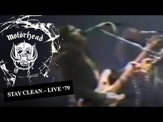 "MOTÖRHEAD、1979年の英アイルズベリー公演から""Stay Clean""のライヴ映像公開"