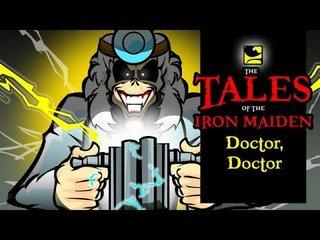 ブラジルのVal AndradeによるIRON MAIDENアニメの新作は「Doctor, Doctor」