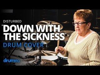 55歳のおばさまは太鼓の達人!DISTURBEDを叩く!