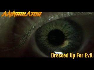 まもなくリリースされるANNIHILATORの新譜『Ballistic, Sadistic』から「Dressed Up For Evil」公開!