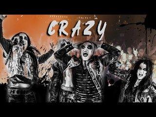 CRASHDÏETが「Crazy」のミュージック・ビデオを公開!