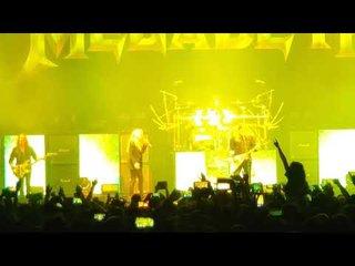MEGADETHのステージにDave Mustaineの娘が登場!