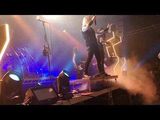 DRAGONFORCEのツアー要員として女性ベーシストAlicia Vigil参加後の最新ライブ映像