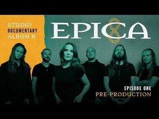 スタジオ入りしたEPICAがビデオ・ブログを公開!