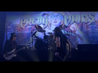 PRETTY MAIDSが「Future World」の日本公演ライブ映像を公開!