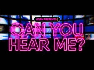 KORNが日本限定の公式グッズを期間限定販売!「Can You Hear Me」のMVを公開!