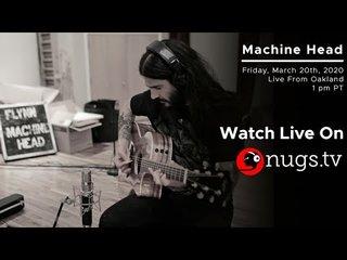 MACHINE HEADのRobb Flynnがアコースティック演奏をビデオ配信