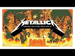 METALLICAがライブ映像を毎週放送するMetallica Mondaysを開始!