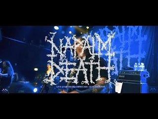 フランスの<Nantes Deathfist>からNAPALM DEATHのライブ映像公開!