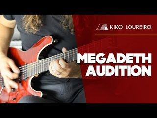 Kiko LoureiroがMEGADETH加入時のオーディション・ビデオを公開!