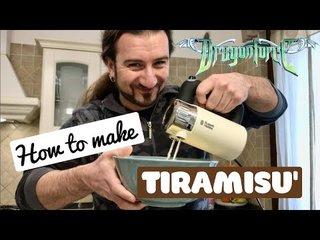 料理動画!DRAGONFORCEのドラマーにティラミスを教わろう!