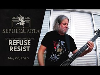 SEPULTURAが「Refuse/Resist」を隔離リモート演奏!