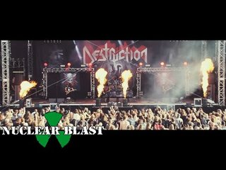 DESTRUCTIONが『Born To Thrash - Live In Germany』から「Curse The Gods」のビデオを公開!