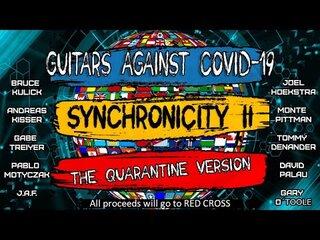『Guitars Against COVID-19』の名の下にブルース・キューリックやアンドレアス・キッサーなどがチャリティとしてTHE POLICEの「Synchronicity II」を演奏!