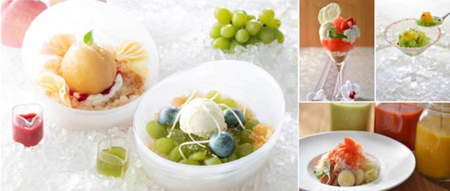第一ホテル東京が、7つのレストランをつなぐ「かき氷フェア」を開催[東京・新橋]