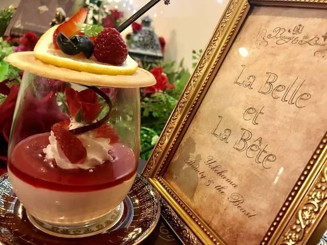 "「Beauty & the Beast」に、まるで ""魔法の薔薇"" のような夏メニューが登場[神奈川・横浜]"